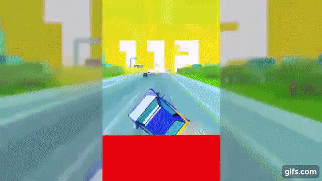 Dashy Crashy per iPhone e Android - un racing game