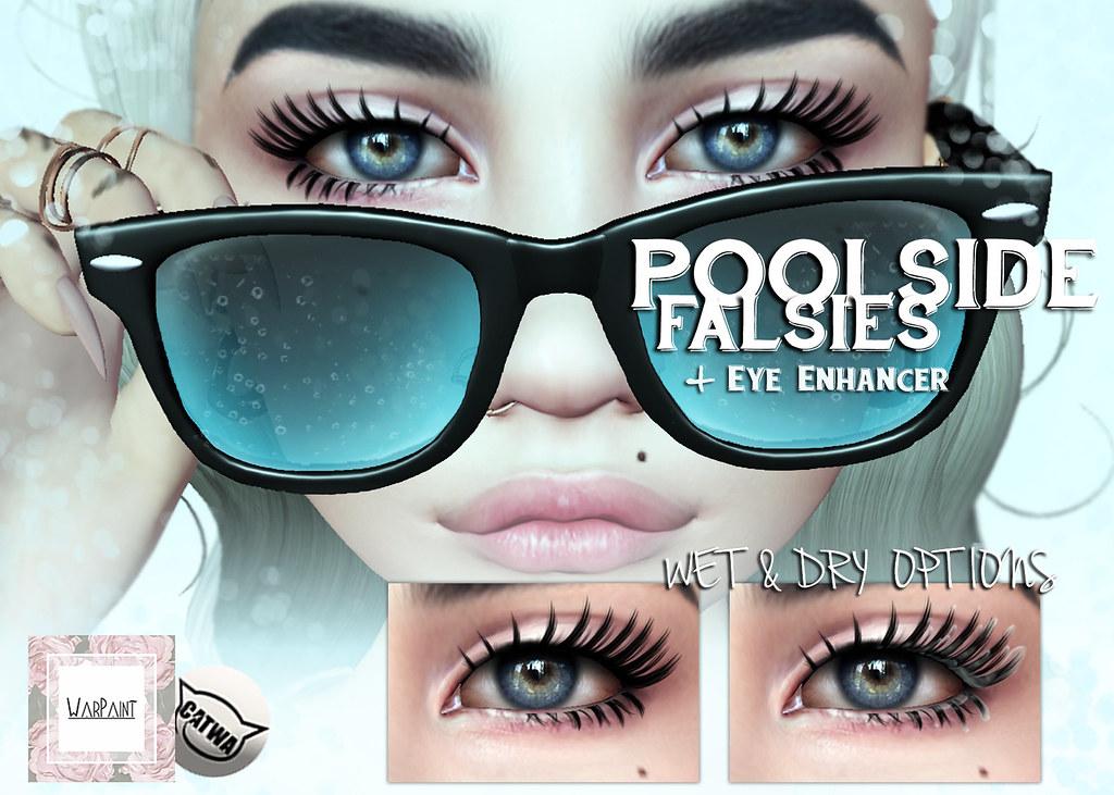 WarPaint @ Applique - Poolside Falsies - SecondLifeHub.com