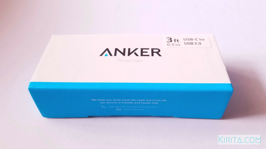 Anker PowerLine+ USB-C & USB 3.0 Cable