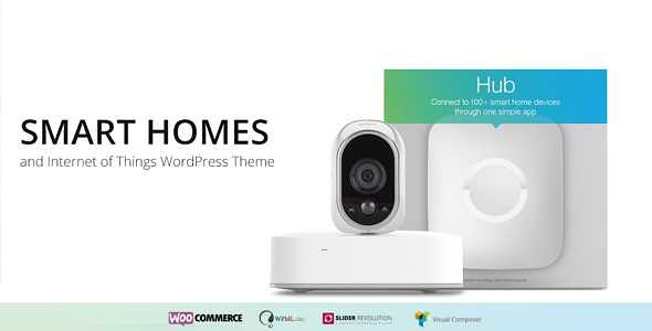 Smart Home WordPress Theme free download