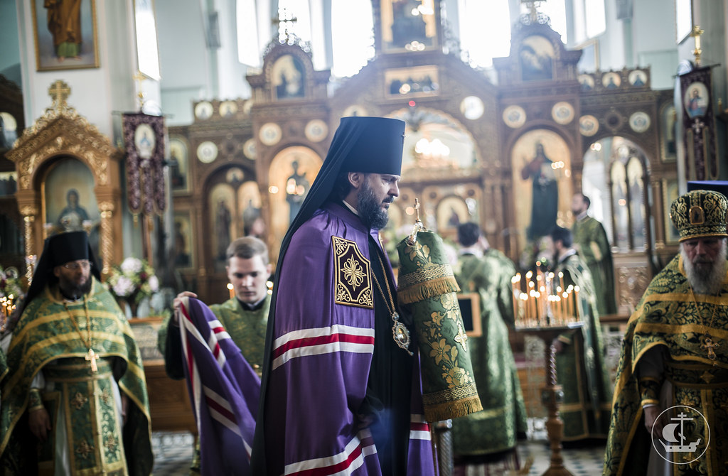 14 июня 2017, Литургия в Иоанновский монастыре Петербурга / 14 June 2017, Divine Liturgy at the Convent of St. John of Rila