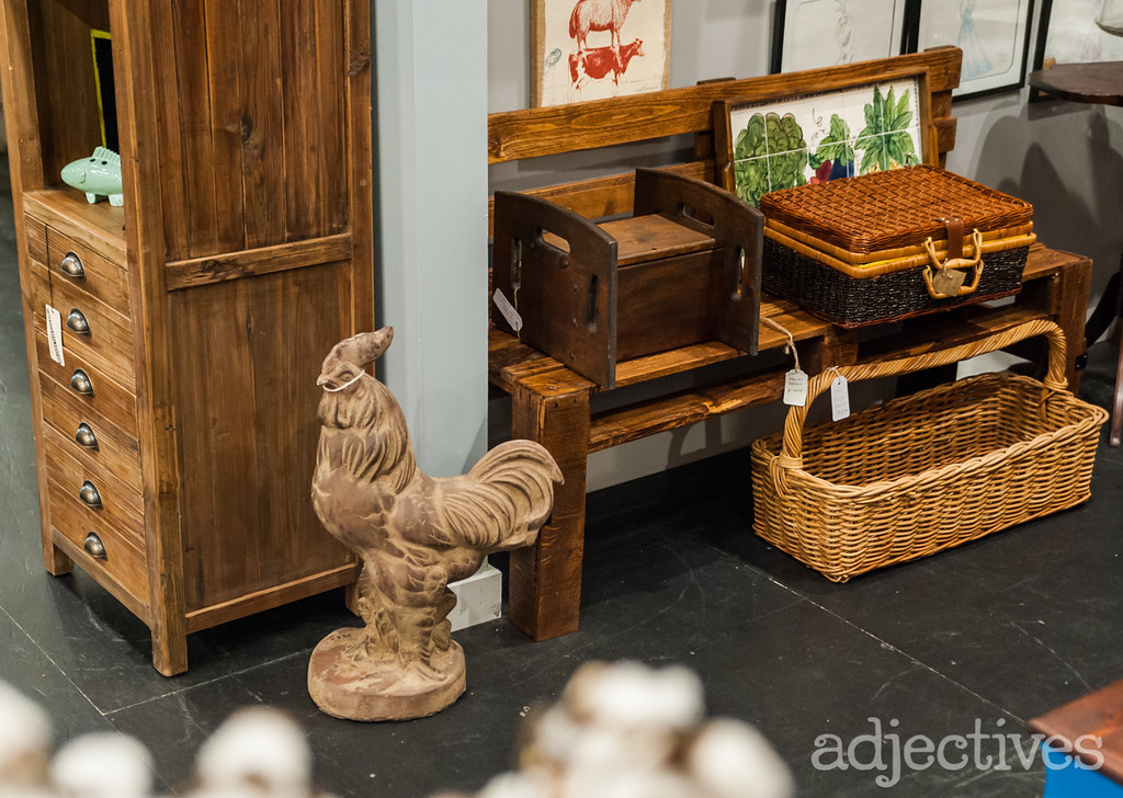 Adjectives Winter Garden by Potbelly Antiques