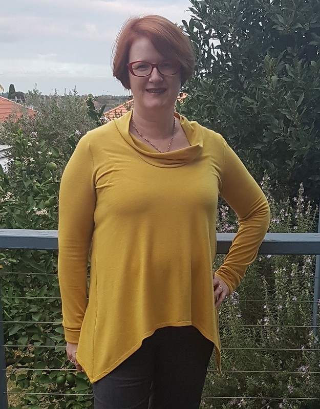 Style Arc Amy top in wool/acrylic knit from Super Cheap Fabrics