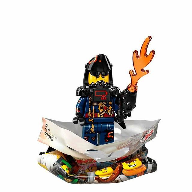 The LEGO Ninjago Movie 71019 Collectible Minifigures 20