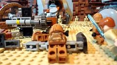 Lego Star wars Geonosis Moc