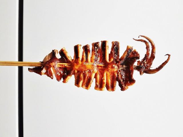Grilled Squid, Zi Ran