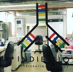 Very cool biotech happening in labs on mid market street @indiebio #accelorator #biotech #innovation