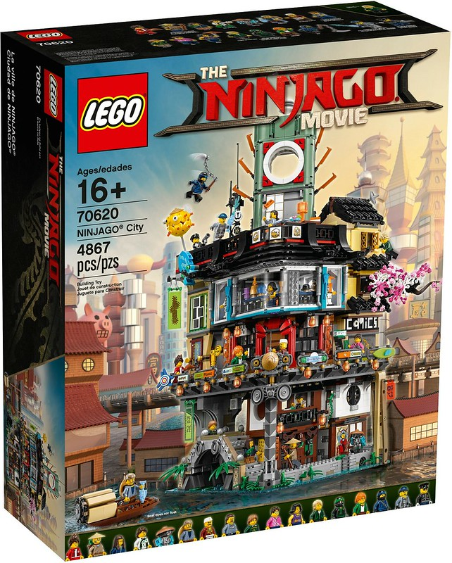 The LEGO Ninjago Movie 70620 Ninjago City  1