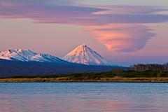 Lenticular cloud in Kamchatka