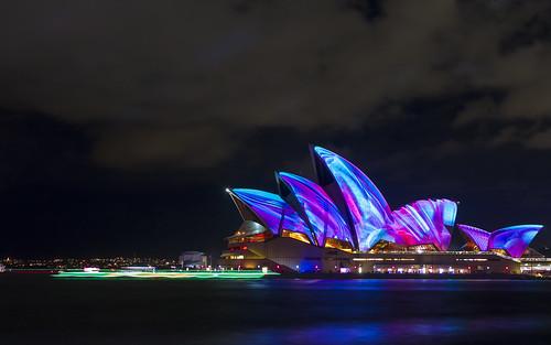Sydney Opera House Vivid