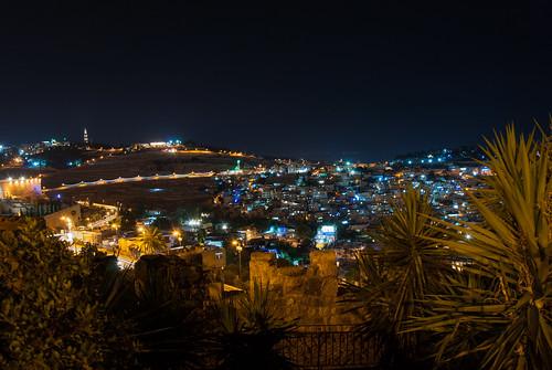 jerusalem nikond80 jerusalembynight night