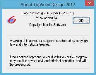 TopSolid 2012 x86 x64 full license