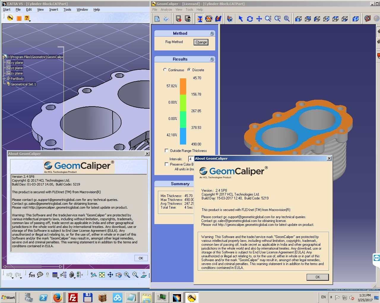 Geometric GeomCaliper 2.4 SP8 for CATIA V5R22-R26 x64 FULL