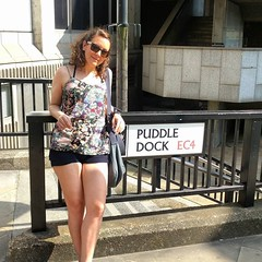 Beatrix Potter style - 'Jemimah Puddle Dock' #physicalpun #punning #London