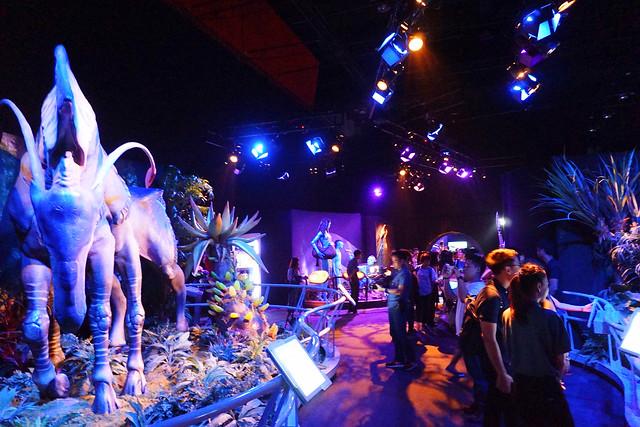 ภายในนิทรรศการ Avatar Discover Pandora Bangkok