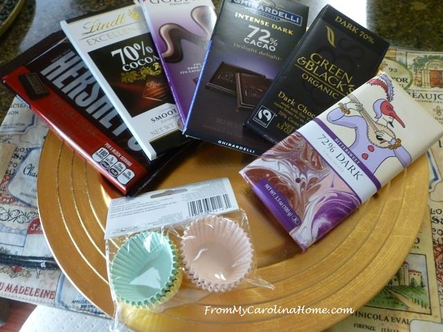Chocolate Tasting for National Chocolate Day at From My Carolina Home