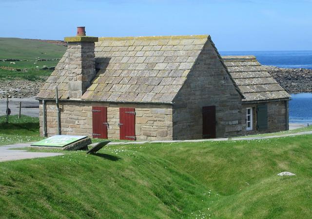 a house a Skara Brae