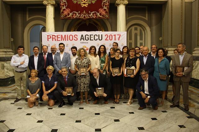 Premios AGECU 2017
