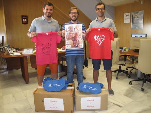 Últimas donaciones al proyecto solidario Sonríe X África
