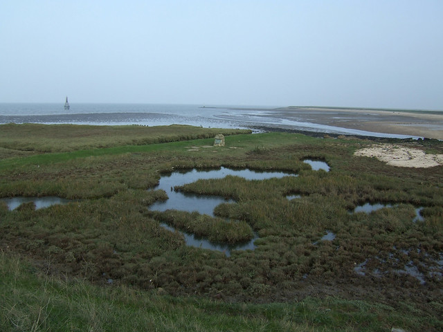 Memorial near Allhallows-on-Sea