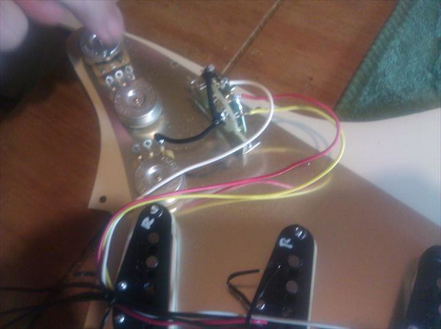 Guitar Wiring No Switch Along With Stratocaster 5 Way Switch Diagram