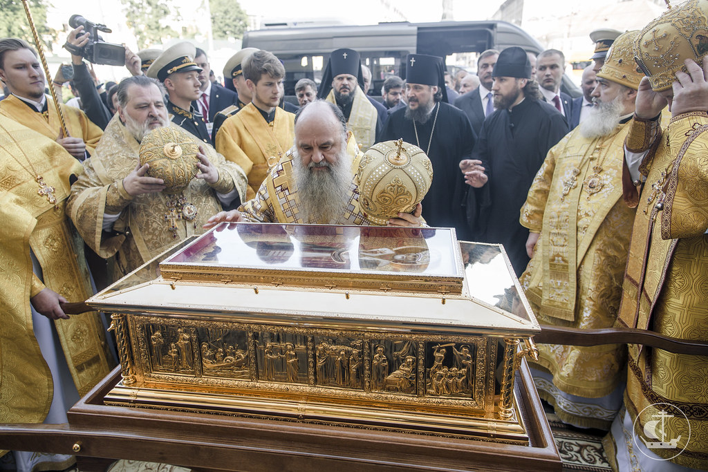 13 июля 2017, Литургия в Александро-Невской лавре / 13 July 2017, Divine Liturgy in Alexander Nevsky Lavra