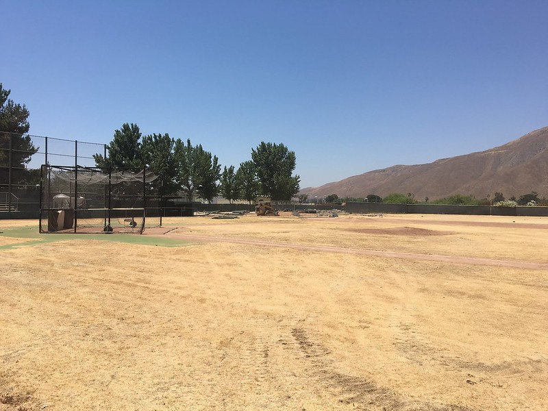 San Jacinto Campus Baseball Field project