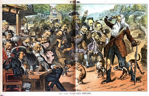 rip van winkle's return (1883)