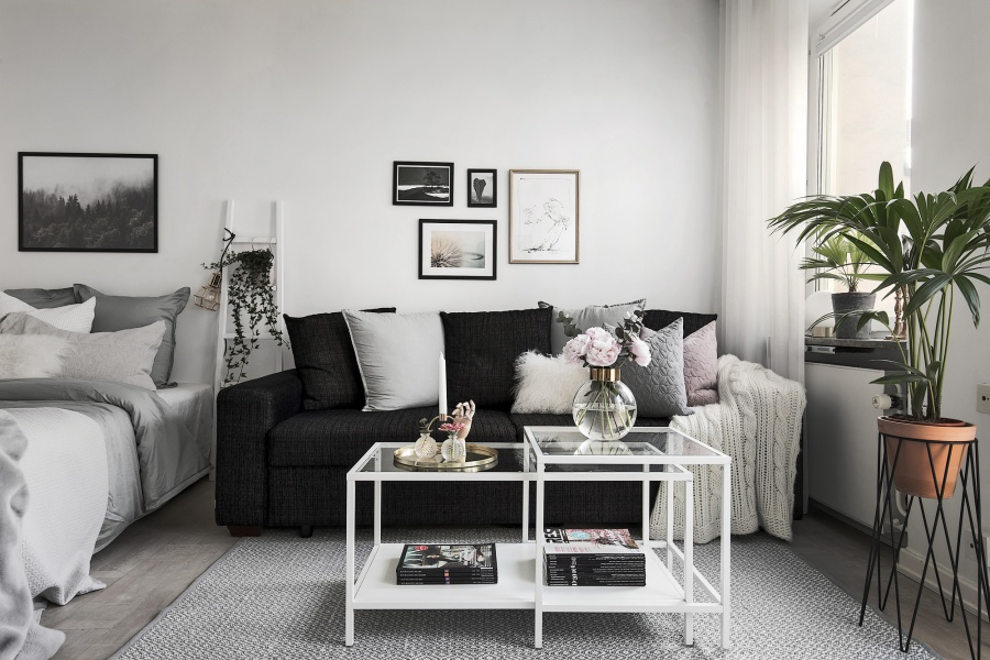 Small Minimalist Scandinavian Home Pinterest Decor Inspiration