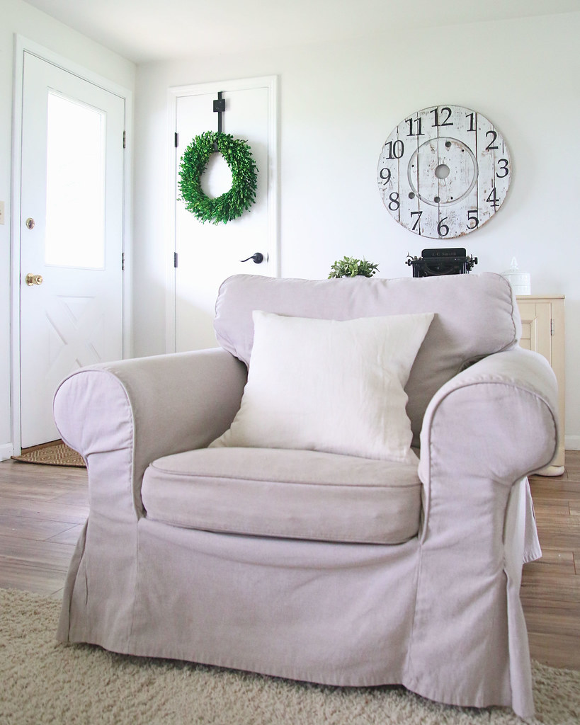 Neutral Armchair Living Room