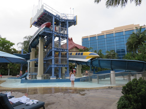 The Pool Slide