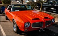 1970 Pontiac Firebird Formula 400. (The monster)
