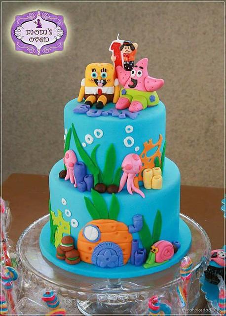 Spongebob and Patrick Cake by Candice B. Ocampo