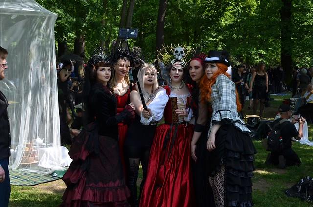 Viktorianisches Picknick beim WGT2017