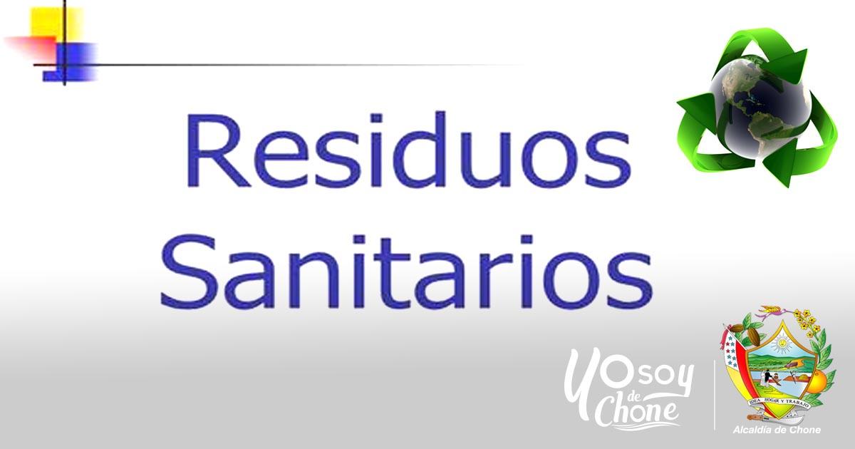 Alcaldía de Chone socializará ordenanza para la gestión integral de desechos sanitarios