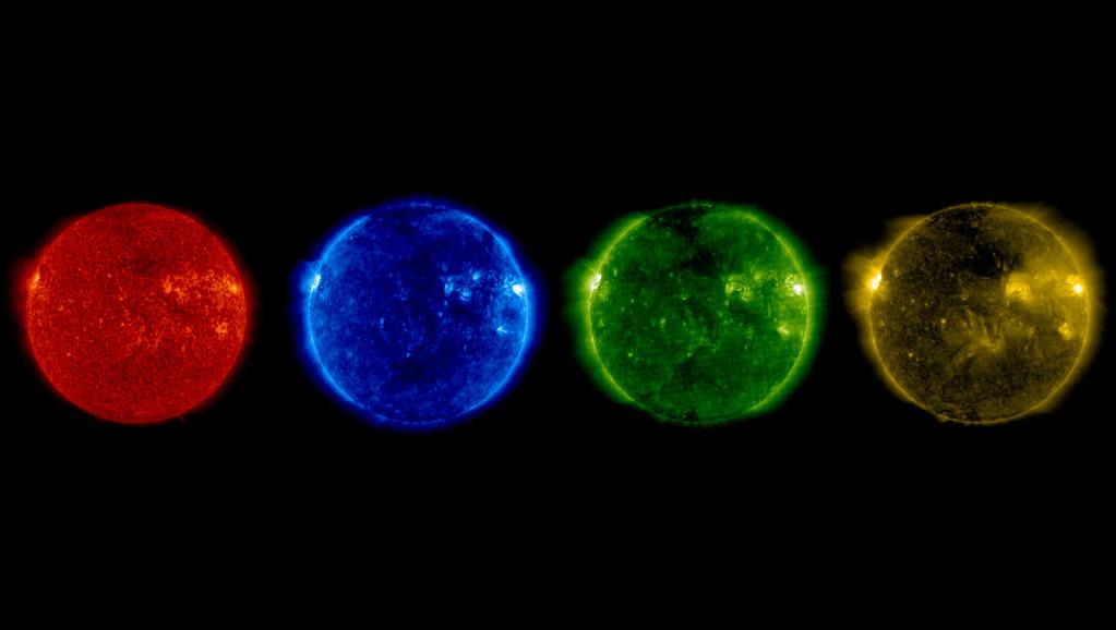 SOHO's summer solstice Sun