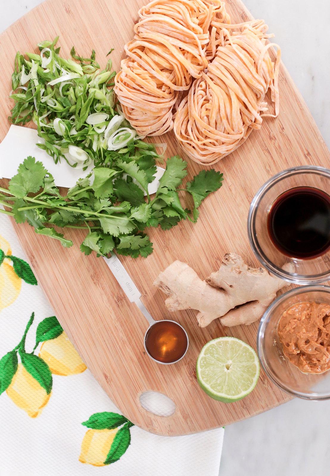 asian peanut butter noodles easy summer recipe