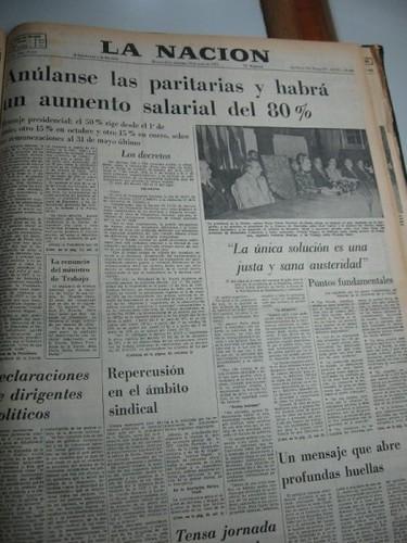 Diario La Nación 29/06/1975