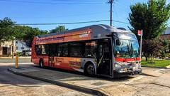 WMATA Metrobus 2016 New Flyer Xcelsior XN40 #2899
