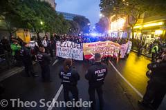 Wutdemo gegen Friedel54-Räumung
