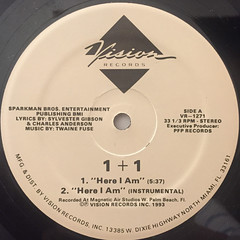 1+1:HERE I AM(LABEL SIDE-A)