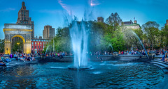 Evening fun in Washington Square Park (Explored)
