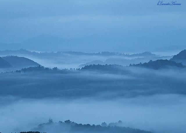 Soft Blue Smoky Mountains, Canon EOS 70D, Canon EF 28-90mm f/4-5.6