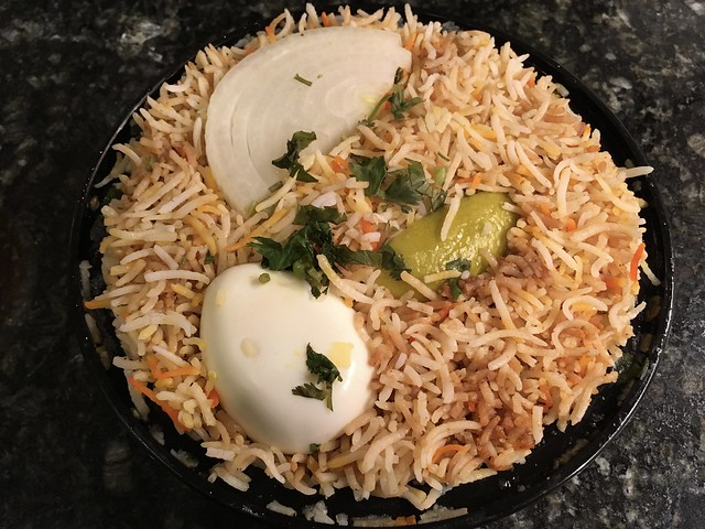 Chicken dum biryani - Hyderabadi Biryani Corner