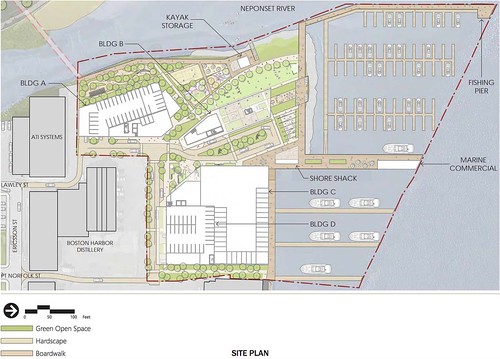 Neponset Wharf Site Plans