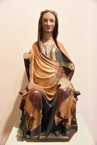 Virgen del Milagro in its current state. Cathedral Museum
