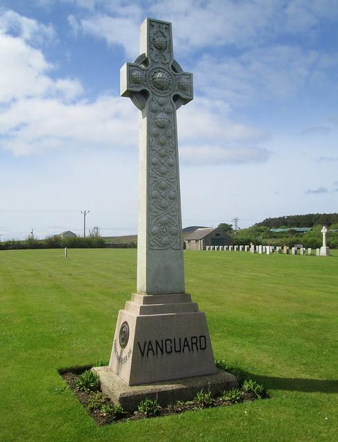HMS Vanguard Memorial, Lyness, Hoy