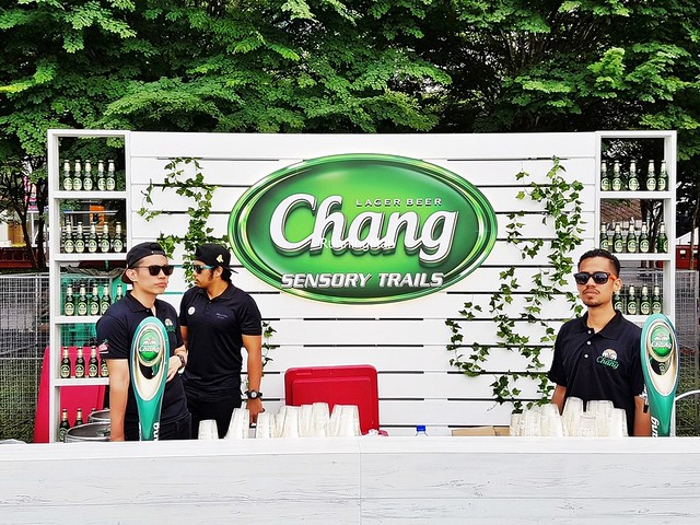 Chang Beer Stall