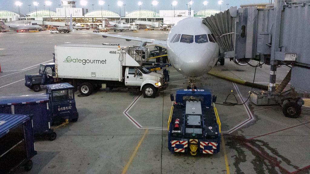 At O'Hare International Airport