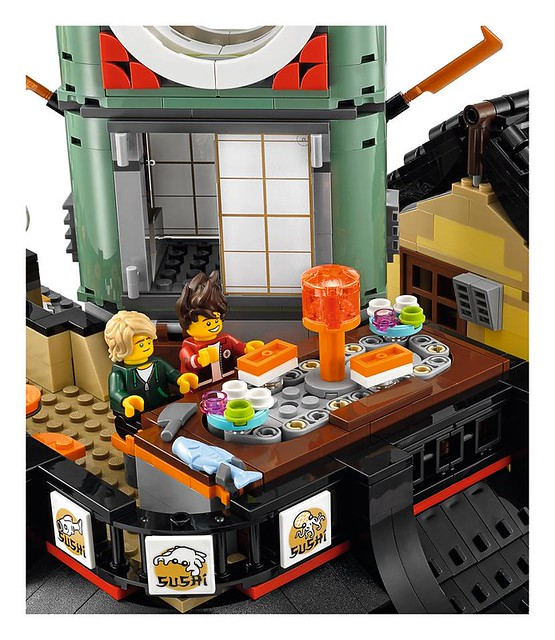 The LEGO Ninjago Movie 70620 Ninjago City 7